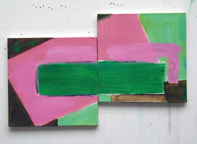 "Electric Pink (13"" x 13"" each / 33 x 33 cm each)"
