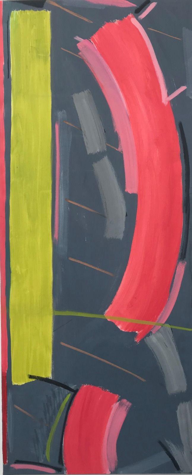 Grey Sweep (171 x 71 cm)
