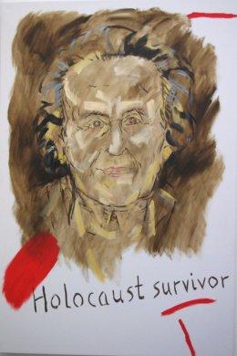 Holocaust Survivor' ( 6' x 4' / 183 x 122 cm )
