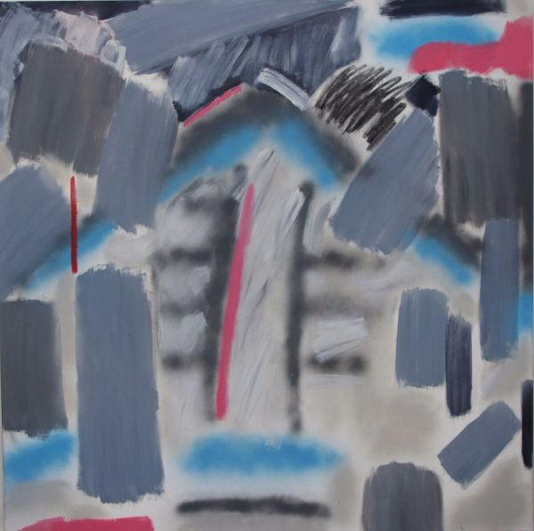 House (5' x 5' / 152 x 152 cm)