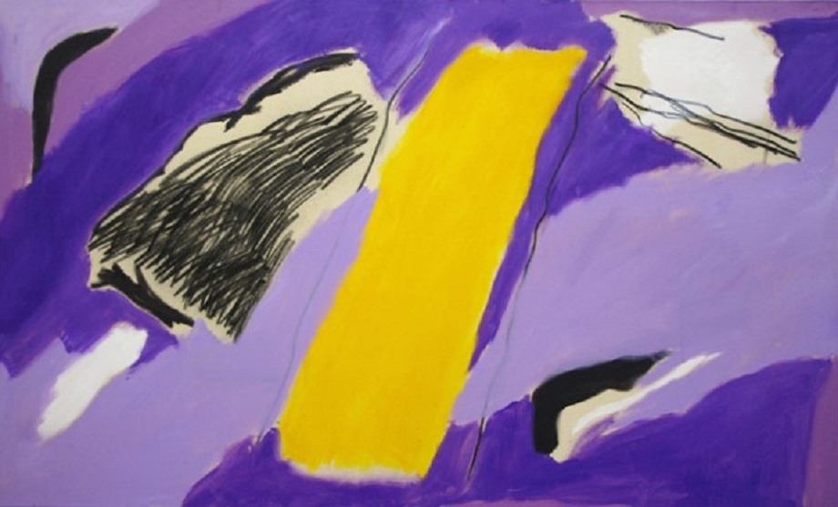 Purple Sailing ( 3' x 5'  /  91 x 151 cm)
