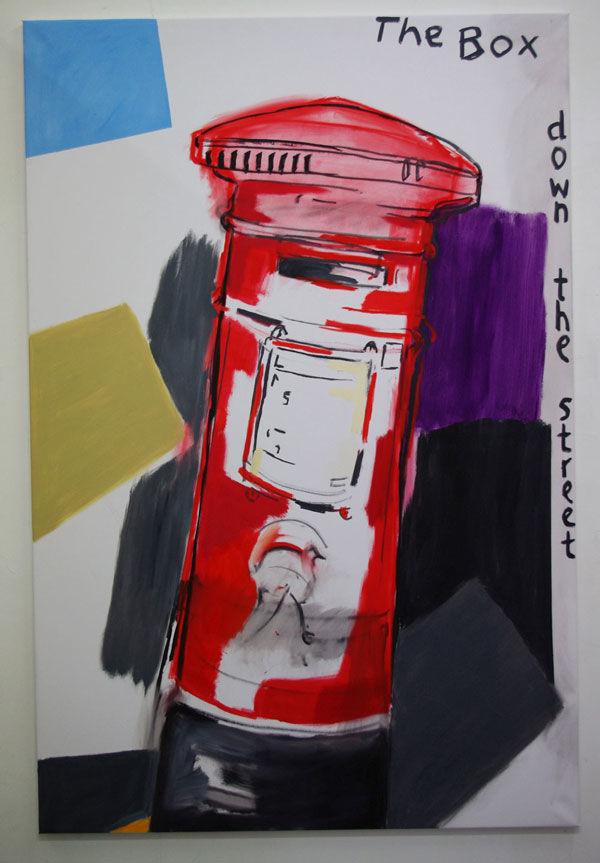 The Box Down the Street ( 6' x 4'  /  183 x 122 cm cm )