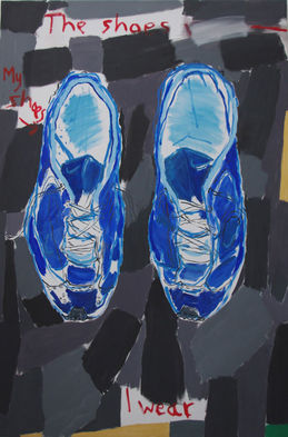 The Shoes Wot I Wear  ( 6' x 4' / 183 x 122 cm )