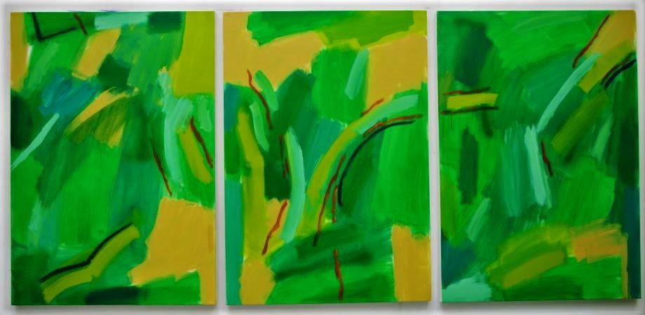 """Tree Broken (100 x 70 cm each / 3'3"""" x 2'3"""" each)"""