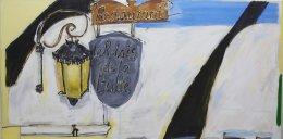 """Le Relais de la Butte ( 3'2 x 6'4"""" / 96 x 193 cm)"""