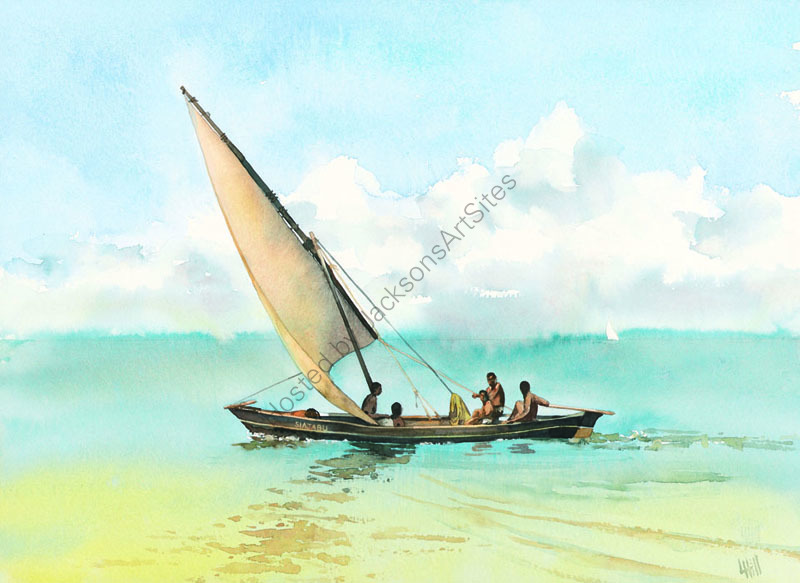 Ngalawa sailing