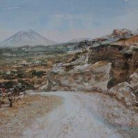 Ol Donyo Lengai road