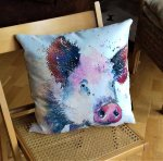 piggin happy cushion