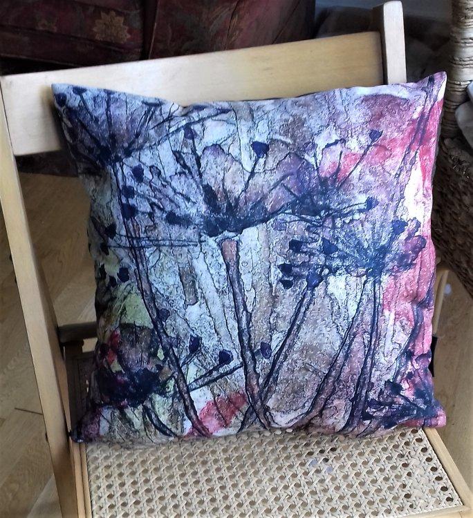 cow parsley cushion