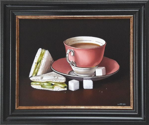 tea and cucumber sandwiches (sold)