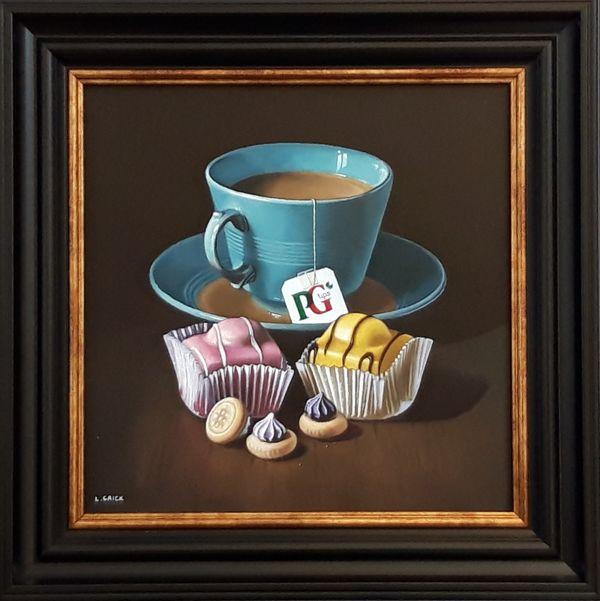 tea and fondant fancies (sold)