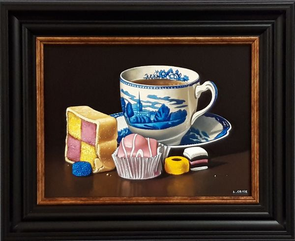 tea with cakes and sweets (sold)