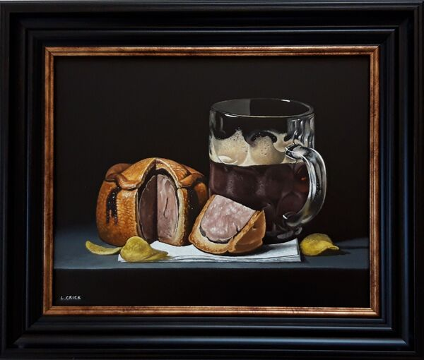 pork pie and a pint (sold)