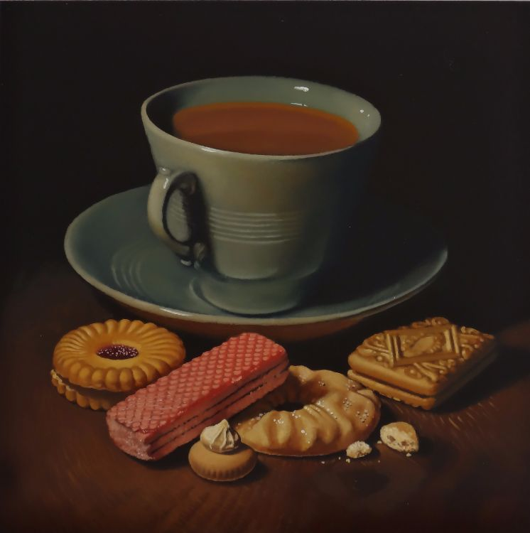 tea and biscuits (sold)