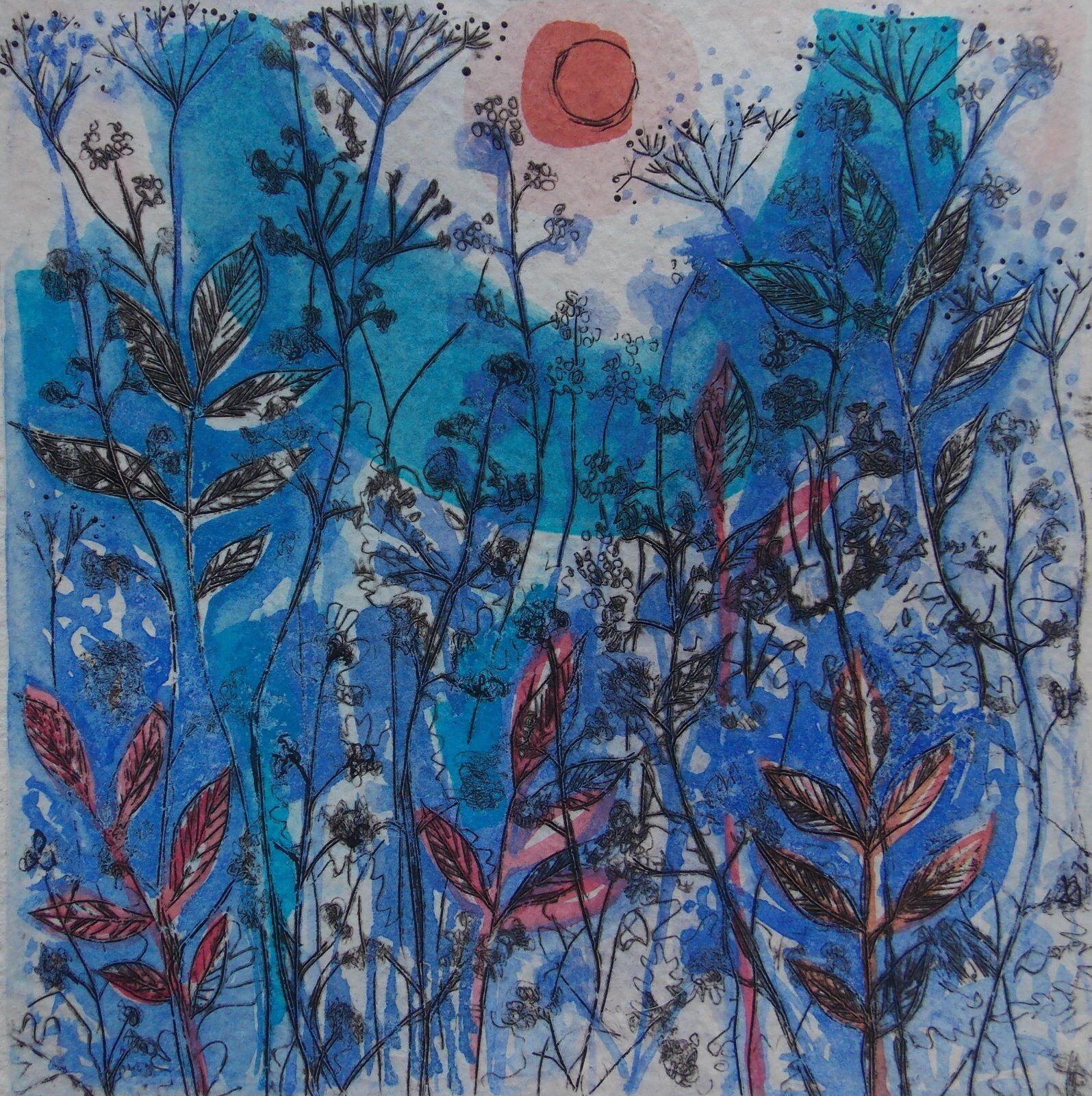 Blue Hedgerow