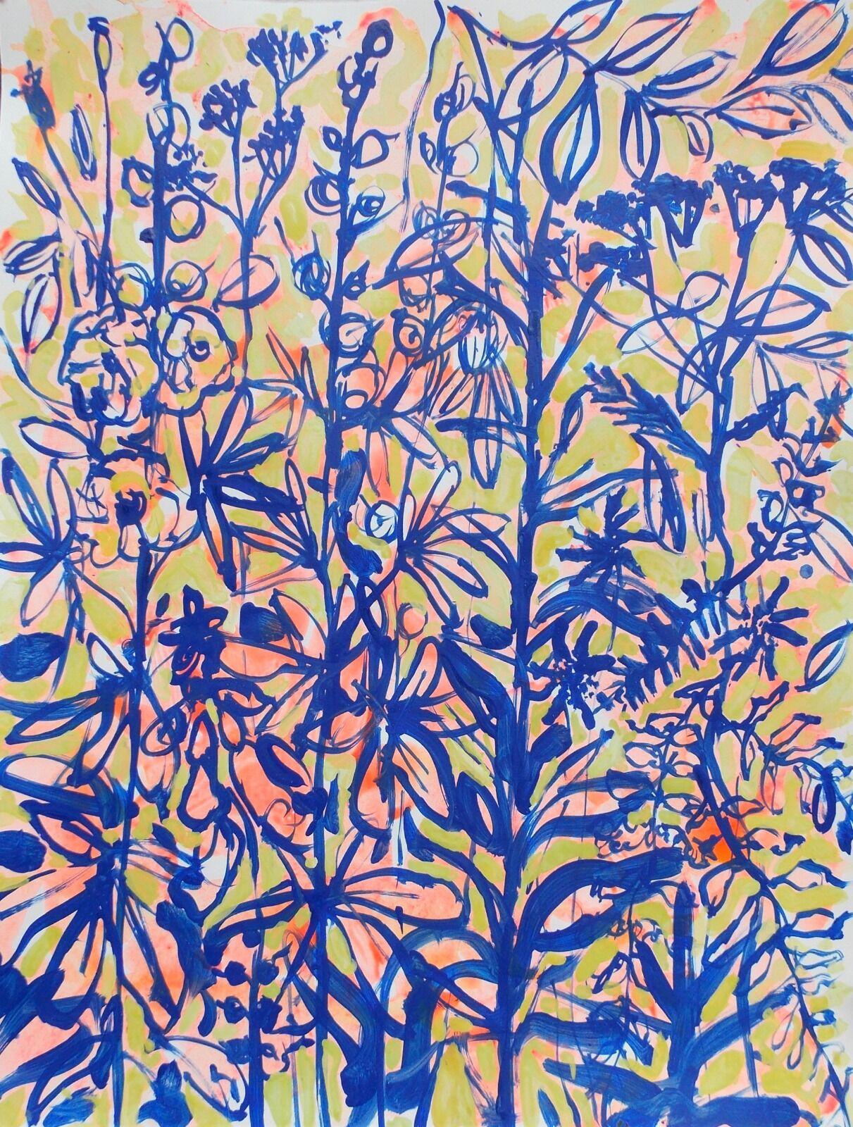 Hibiscus and Verbena