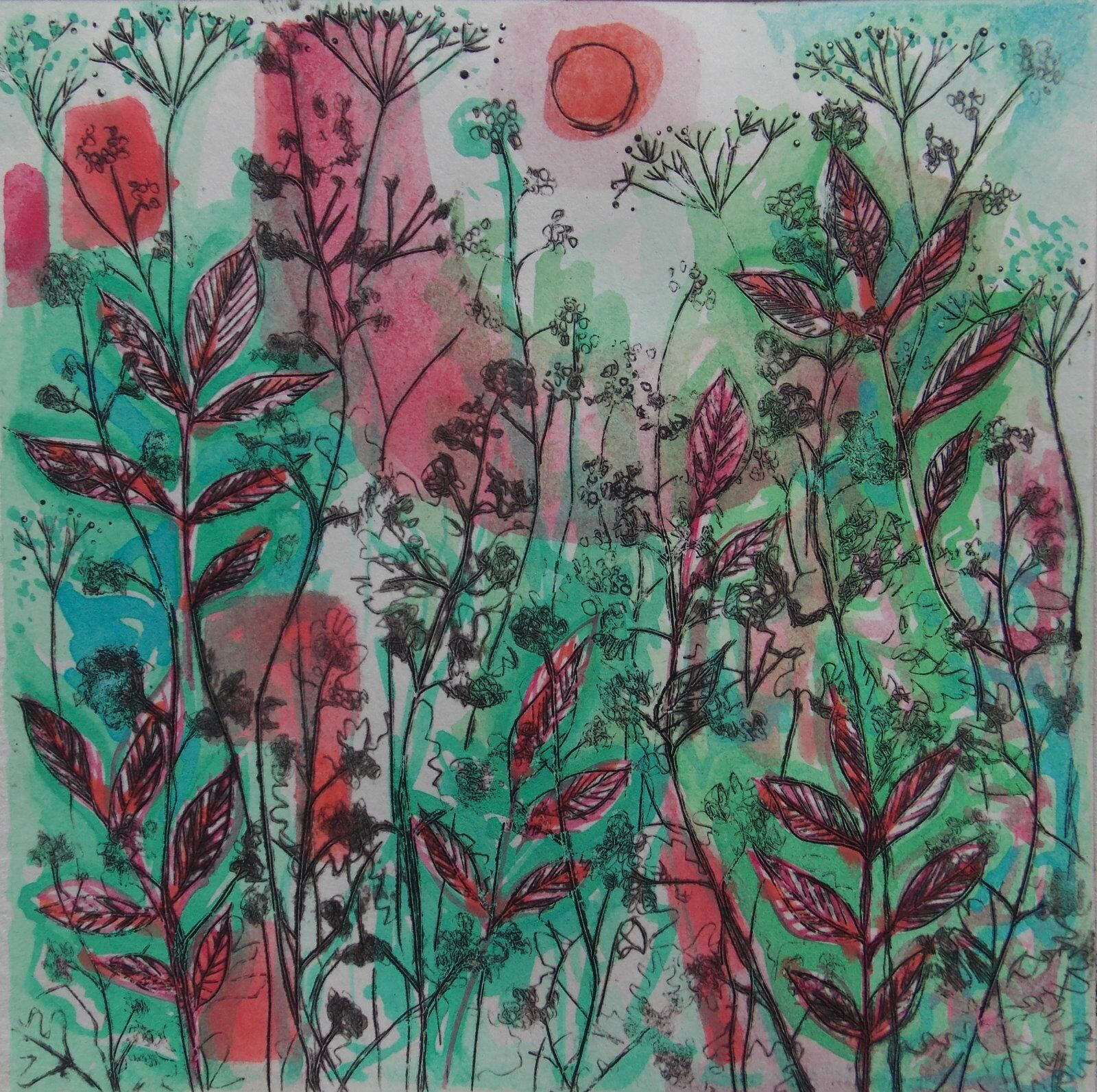 Green Hedgerow