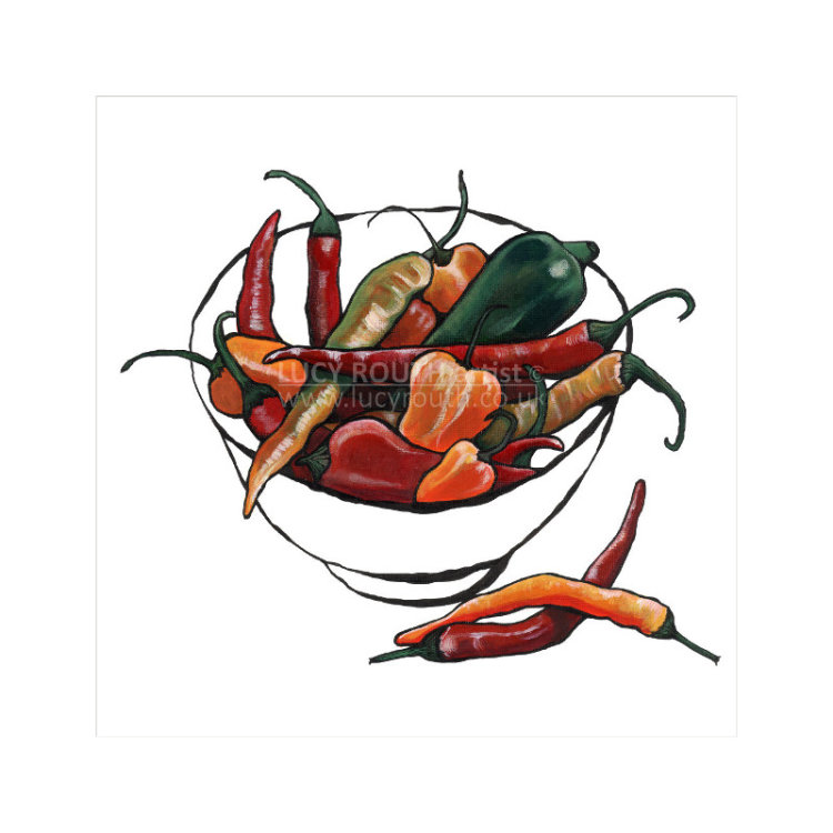 Bowl of Chillies