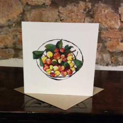 Crab Apples Greetings Card