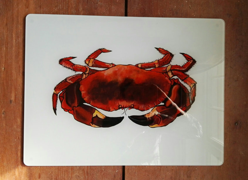Crab Glass Worktop Protector (TEMPORARILY OUT OF STOCK)