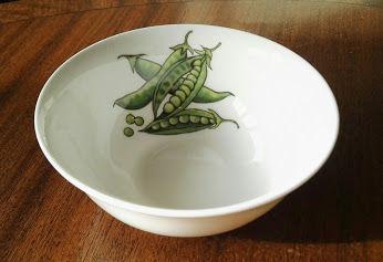 Peas dipping bowl