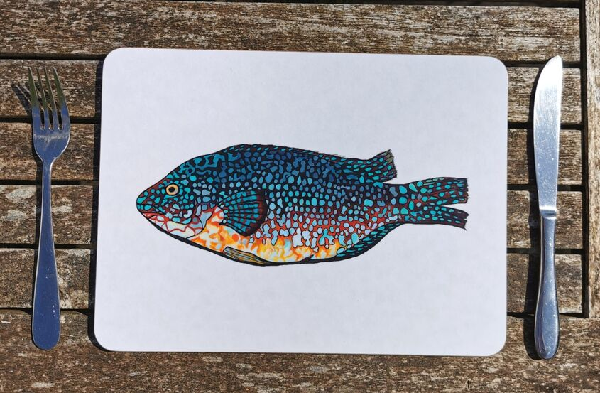 Wrasse placemat