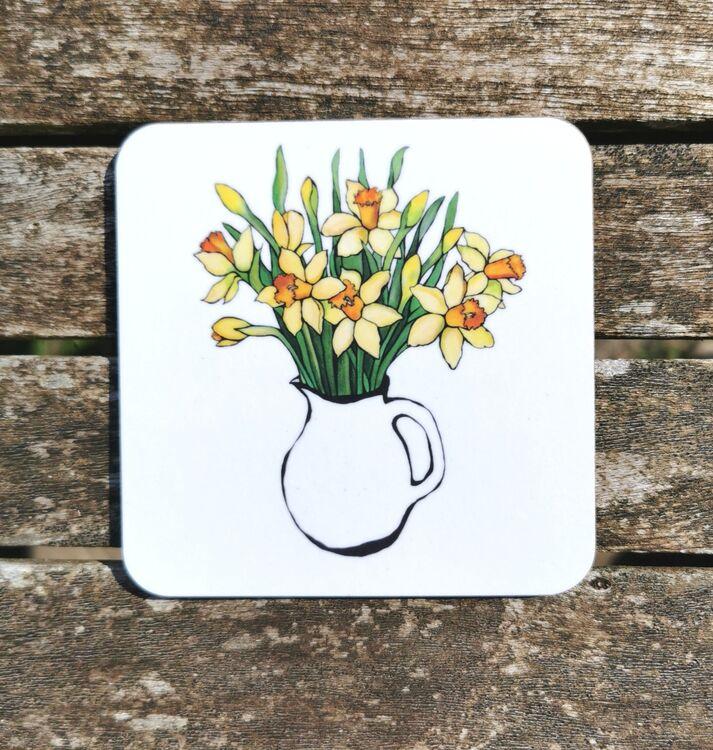Daffodils Coaster