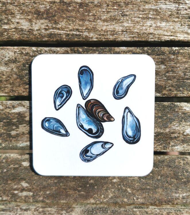 Mussel Shells Coaster