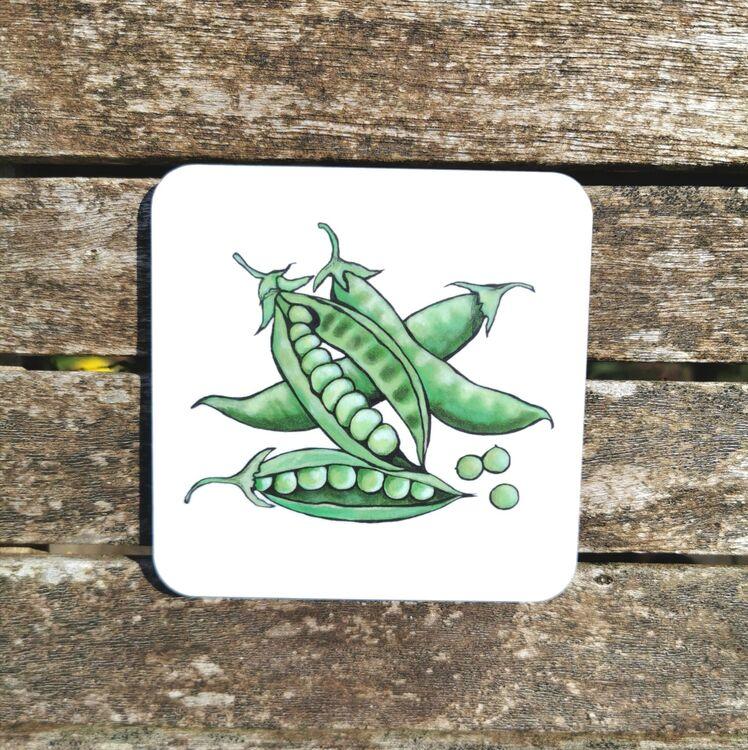 Peas Coaster