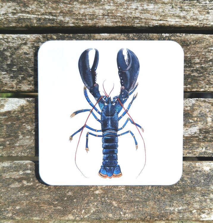 Blue Lobster Coaster