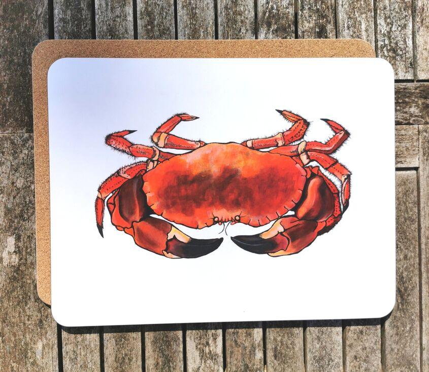 Crab large placemat/serving mat