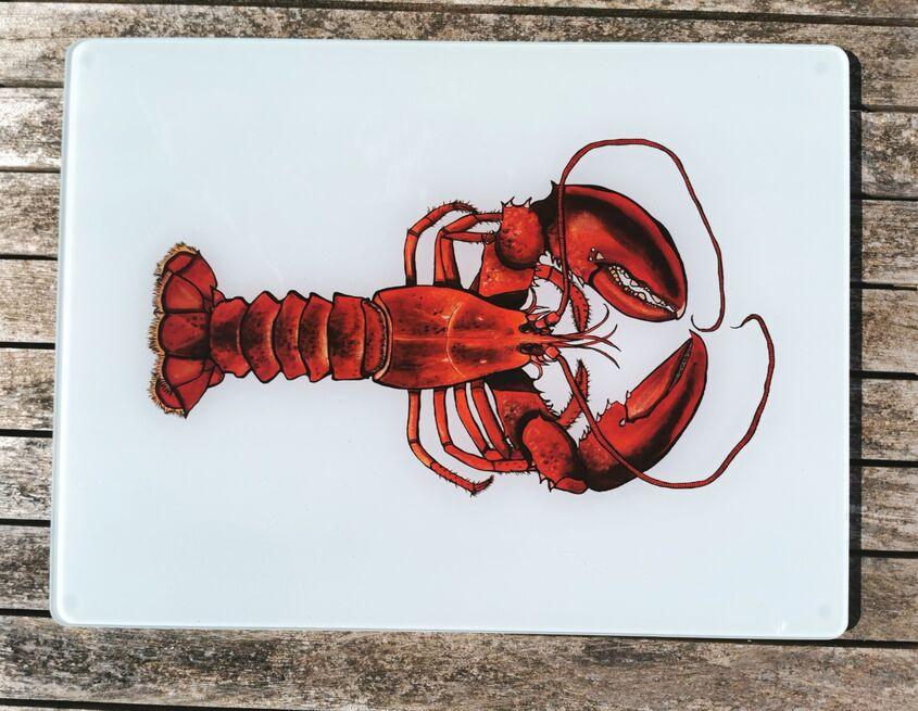 Lobster Glass Worktop Protector