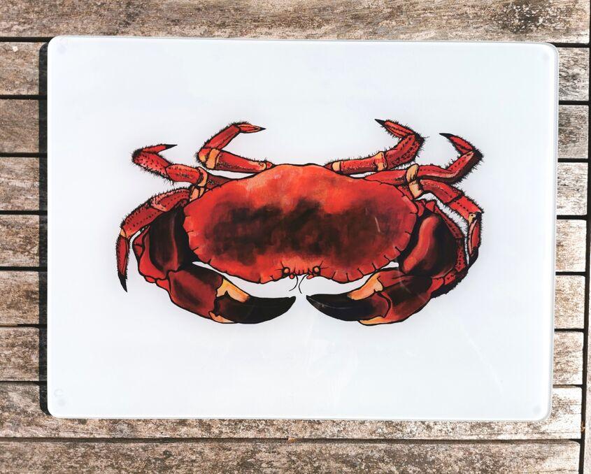 Crab Glass Worktop Protector