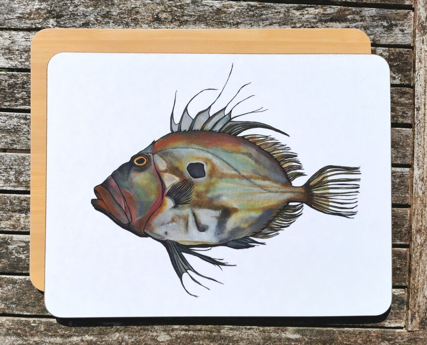 John Dory chopping board