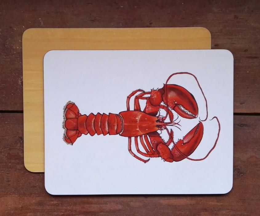 Lobster chopping board