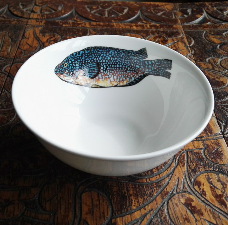 Wrasse dipping bowl
