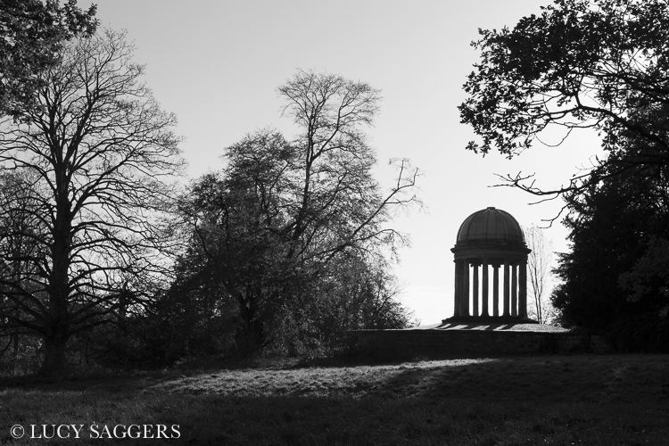 Ionic Temple, Duncombe Park, November 2013