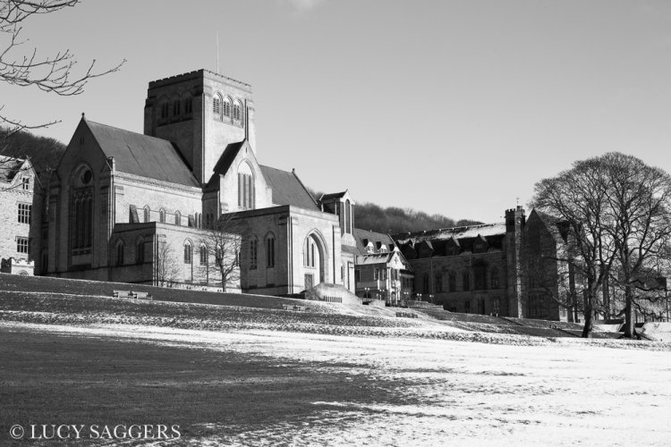 Ampleforth Abbey, February 2015