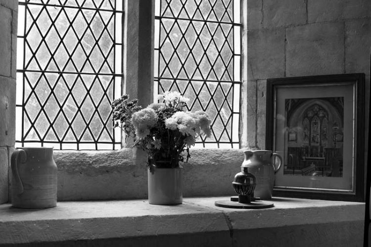 Church flowers, St Hilda's, Ampleforth, May 2016