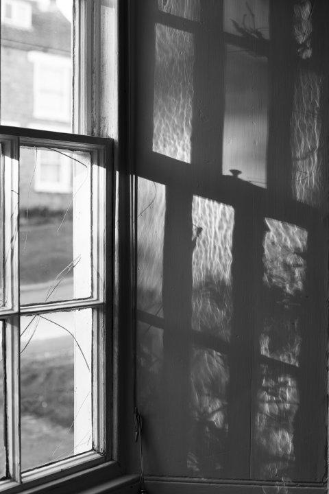 Kitchen window shadows, April 2015