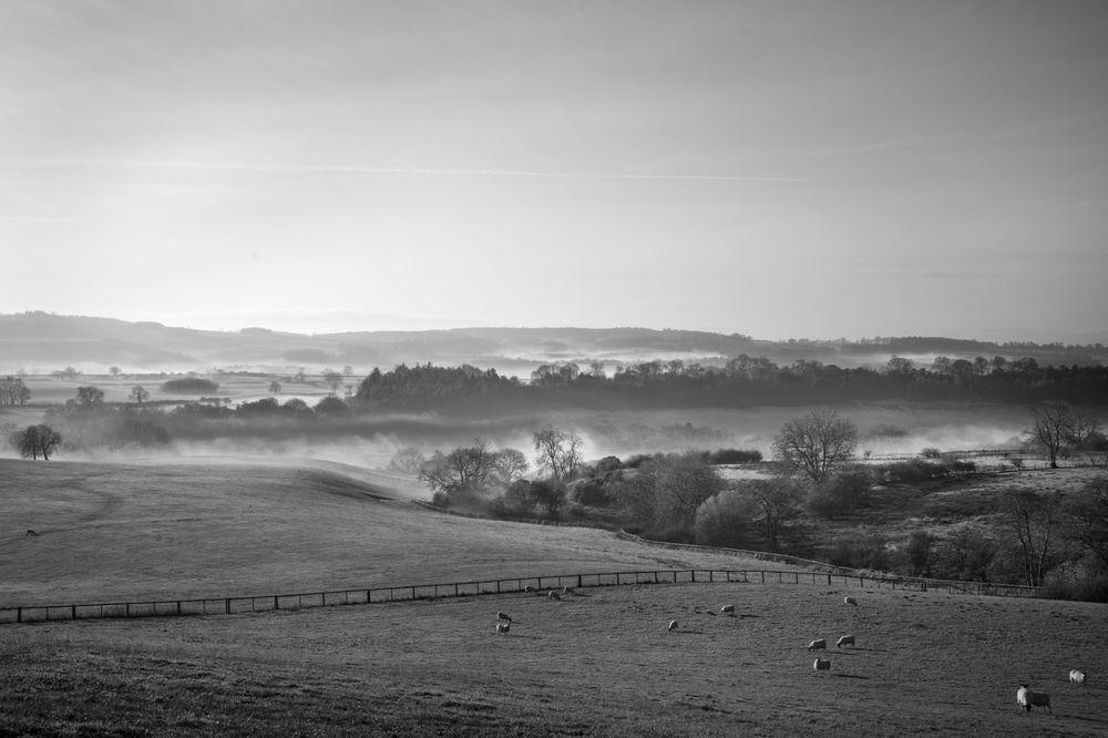 Winter morning from Knoll Hill