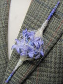 hyacinth boutonnierre