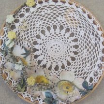 hoop decoupage design