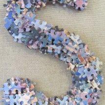 Jigsaw monogram