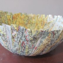 paper strips bowl