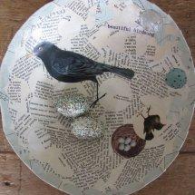 paper bird bowl