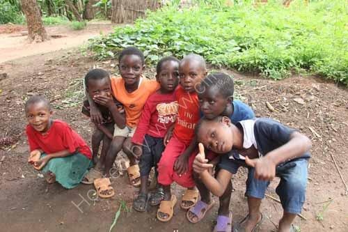 Luhimba village children
