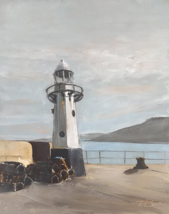 Smeaton Lighthouse, St Ives - click on image for more details