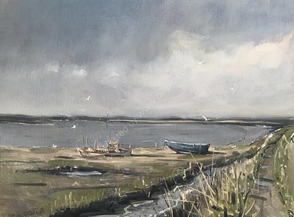 Boats at River Alder, Aldeburgh, Suffolk