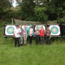 Archery group kids